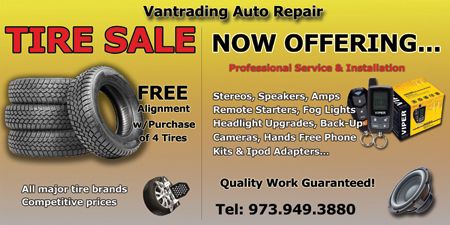 Purchase 4 Tires and Receive a Complemantary Alignment